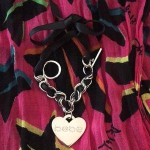 Bebe Heart Bracelet